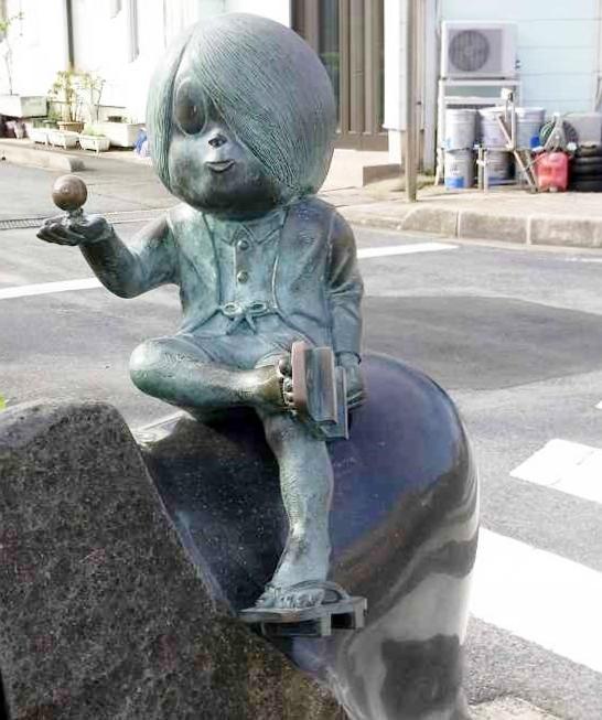 水木しげるロード・鬼太郎像