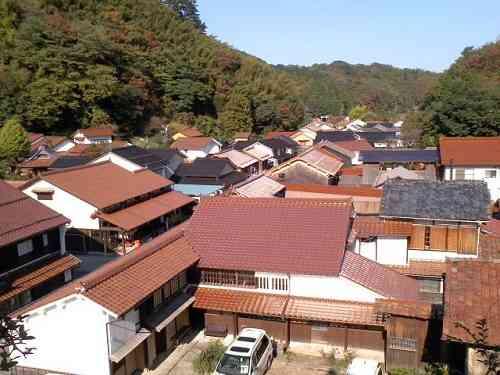 石見銀山・観世音寺からの眺め