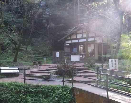 龍源寺間歩・入り口